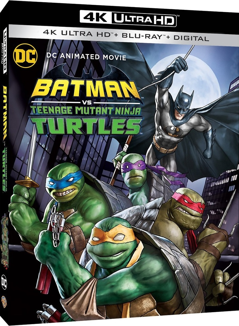 Batman Vs Teenage Mutant Ninja Turtles 4k Blu Ray