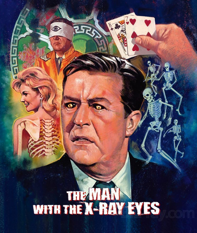 Second Sight X The Man With The X Ray Eyes Detailed For Blu Ray