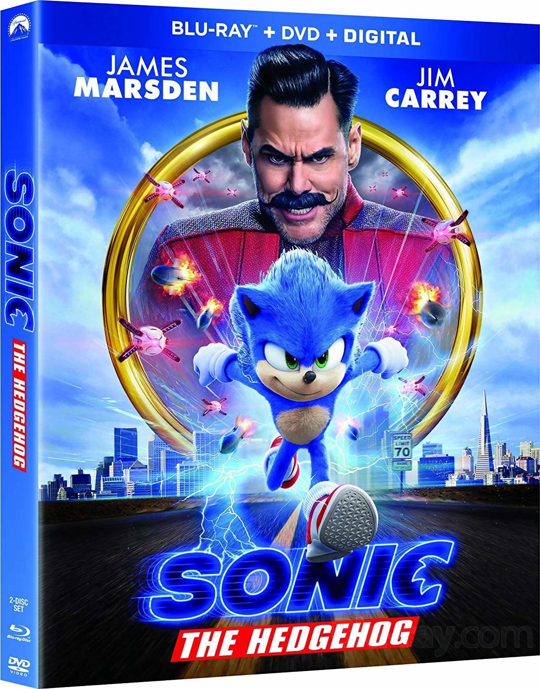 Sonic The Hedgehog 4k Blu Ray