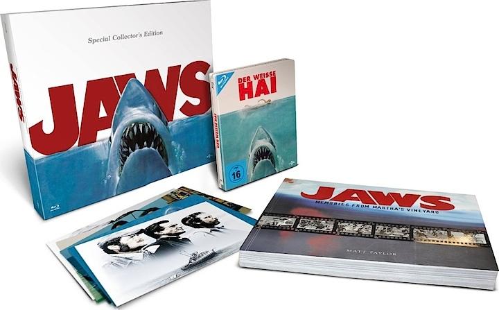 Jaws Blu-ray: Special Collector's Edition mit Bildband | Der Weiße