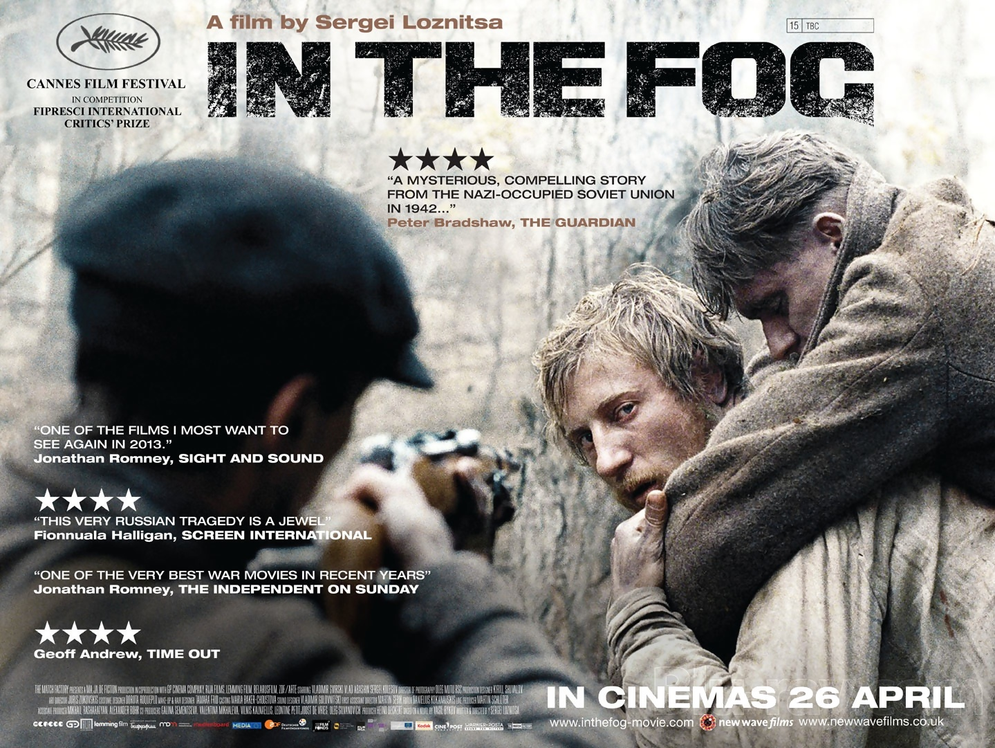 New Wave Films to Release Sergei Loznitsa's In the Fog