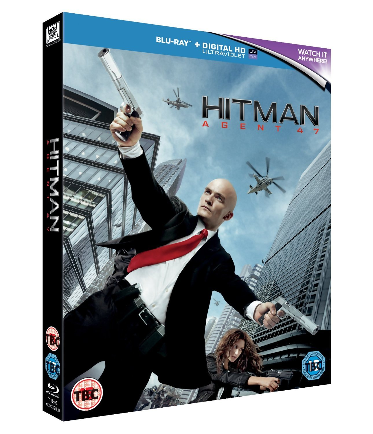Hitman Agent 47 Uk Blu Ray