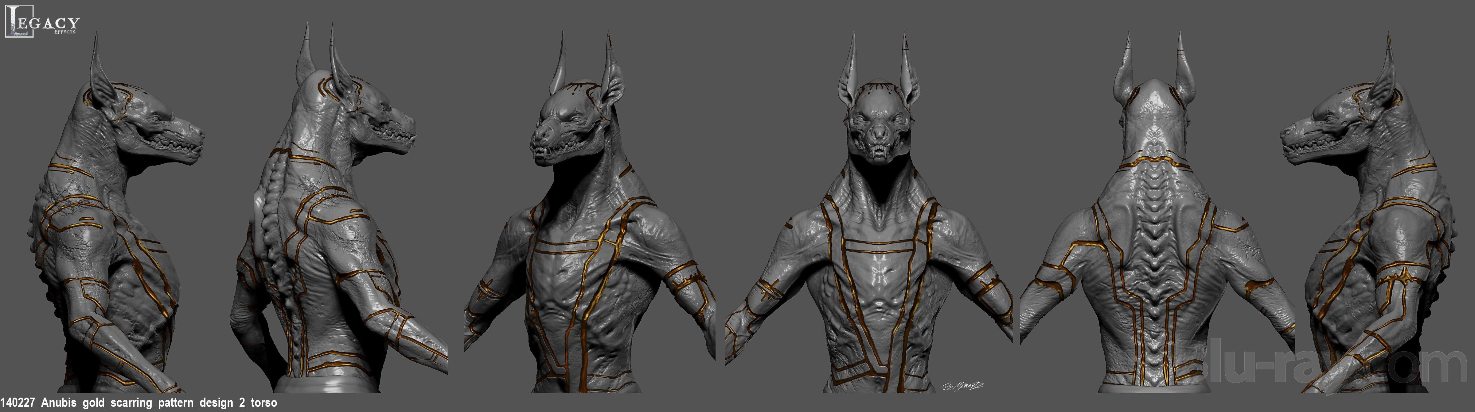 Gods of Egypt Official Studio Concept Art