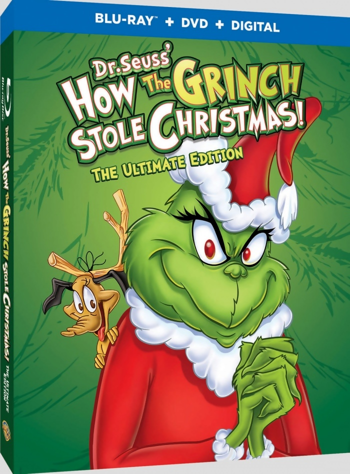 How the Grinch Stole Christmas: The Ultimate Edition Blu-ray