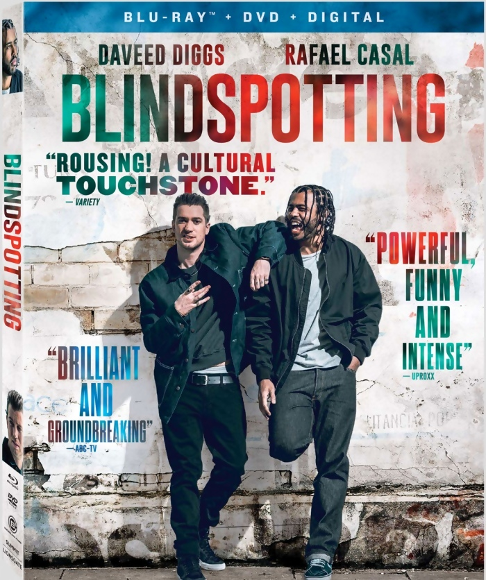 ผลการค้นหารูปภาพสำหรับ blindspotting (2018) bluray